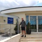 Liam Killington, sports and fitness manager at Rossis in North Walsham. The centre is planning to re