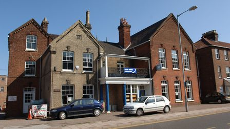 The former hospital and Conservative Club in Louden Road, Cromer, when it reopened as a pub in 2005.