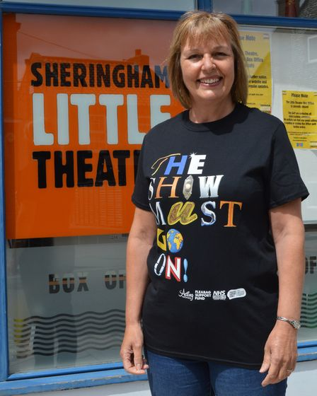 Sheringham Little Theatre director Debbie Thompson. Picture: Supplied by SLT