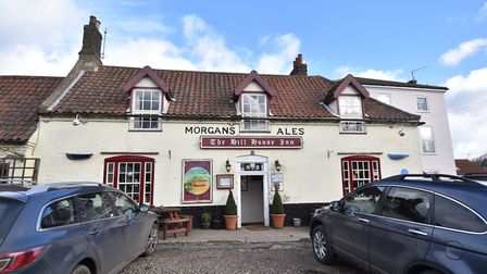 The Hill House Inn at Happisburgh. Picture: ANTONY KELLY