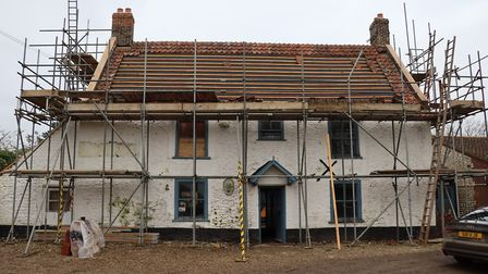 The Lord Nelson pub at Burnham Thorpe is being fully renovated and extended ahead of its grand reope