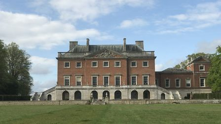 Wolterton Hall in north Norfolk hosted two open-air classical concerts. Picture: Ella Wilkinson