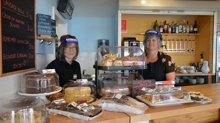 Staff at Sheringham Little Theatre's The Hub cafe are again serving up to treats to visitors. Pictur