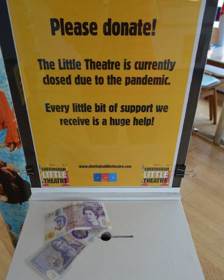 Sheringham Little Theatre - like practically all theatres in the UK - is suffering financially due