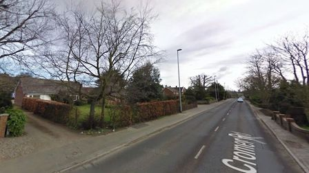 Plans have been made to replace a bungalow with five new homes on Cromer Road, North Walsham. Image: