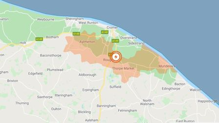 UK Power Networks is reporting a powercut in Trimingham which is affecting 176 homes. Picture: UK Po