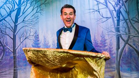 Entertainer Olly Day will host the Strictly Variety show. Picture: Paul Macro