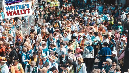 One of the highlights of the Sheringham Virtual Carnival was a 'Where's Wally' contest, where people