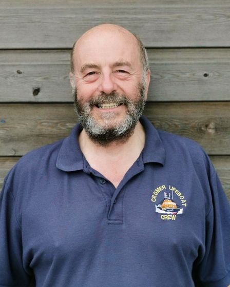 Roger Sutton, a team member at RNLI Cromer has praised the lifeboat station's new recruits who have