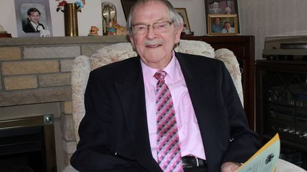 Tributes have been paid to Mac McGinn, of Sheringham, who has died aged 91. Photo: KAREN BETHEL