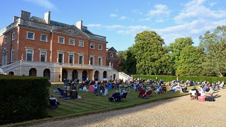 A scene frm the Wolterton Park recitals. Picture: Neil Foster Photography