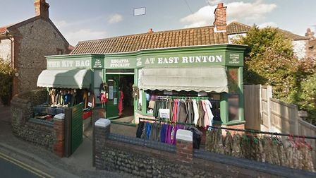 The Kit Bag in East Runton, when it was open as an army surplus shop. Picture: Google StreetView