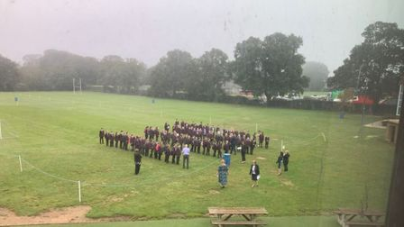 Students at North Walsham High School returned in their numbers today. Photo: North Walsham High Sch