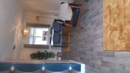 Inside one of the newly-renovated homes in Bluebell Road, North Walsham. Picture: The Benjamin Found