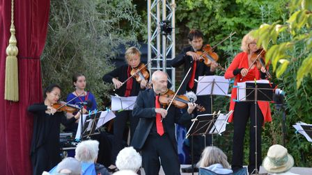 The London Mozart Players in action at the Sheringham Little Theatre event. Picture: Richard Batson/
