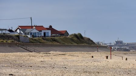 A new car park has opened up at Bacton in north Norfolk. Picture: Jamie Honeywood