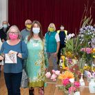 Some of the participants in this year's Walcott Village Show, held at the village hall. second from