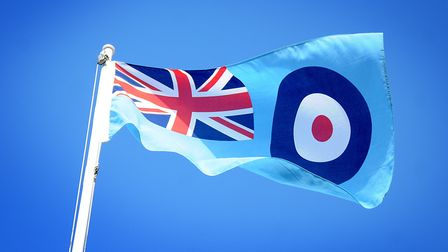 An RAF Roundel. An event in Northrepps to mark the anniversary of the Battle of Britain will now tak