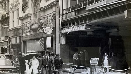 After the bombing of Gieves' Bond Street store by the IRA in 1975, Lionel Rogers was called in to he