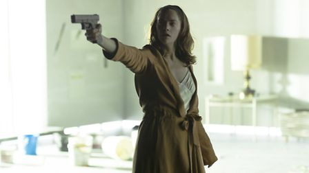 Ruth Wilson as Ibsen's Hedda Gabler at The National Theatre