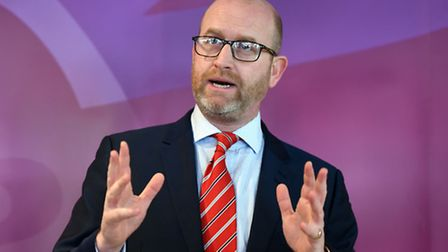 Stoke Central by-election candidate and party leader Paul Nuttall.