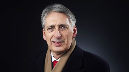 Philip Hammond, U.K. chancellor of the exchequer, poses for a photograph following a Bloomberg Telev