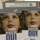 French voters head to polling stations in Paris to vote in the controversial referendum on the Europ