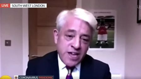 John Bercow appears on Good Morning Britain