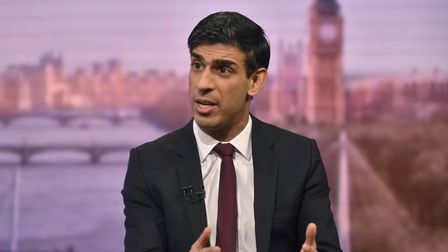 Rishi Sunak MP, Chancellor of the Exchequer on the Andrew Marr show