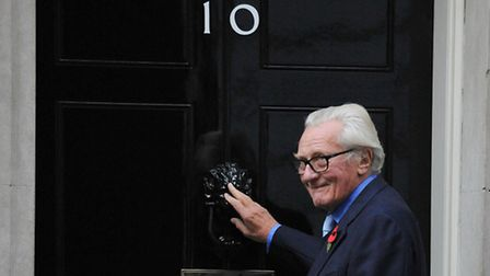 Lord Heseltine who has been sacked as a government adviser after rebelling over Brexit.
