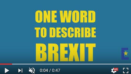 One word to summarise Brexit...