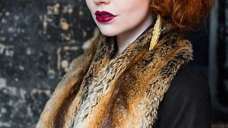 Jude wears: soft brown stole from House of Handmade and earrings from Eclectic Eccentricity. Photo: