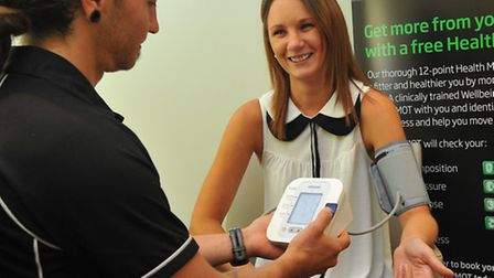 It's not just about getting fit. Nuffield members can have a free health MOT as part of their member