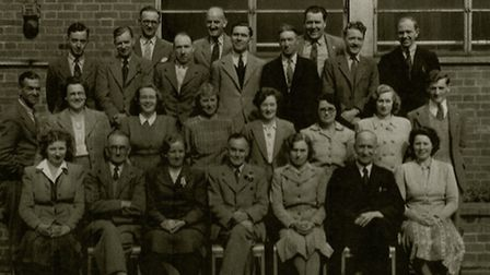 Teachers at the Henderson School just after the Second World War