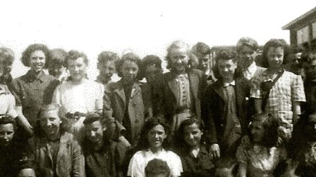 Some of the first pupils