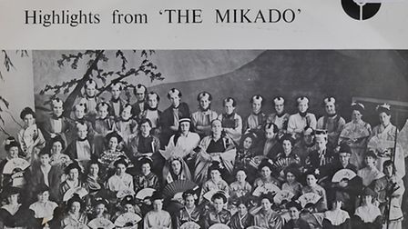 Recording of Thorpe grammar school's production of The Mikado from 1974, currently for sale at Oxfam