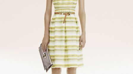 Stripe shift dress from the Spring collection in House of Fraser. Available from March.