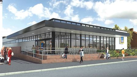 Proposed Aldi store in Sprowston Road, Norwich: Submitted