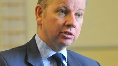 Michael Gove on a visit to Ormiston Victory Academy, Costessey, in 2011.