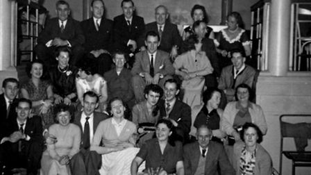 A party for staff at a Norwich cinema. do you recognise anybody?
