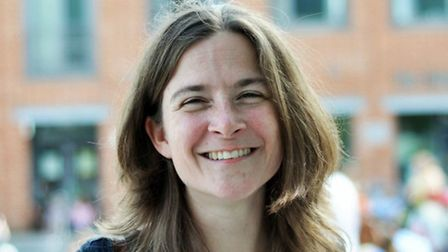 Norwich City Council elections.; Green candidate.; Pictured: Claire Stephenson