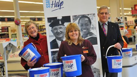 Sue Lynn, the charity champion at Sainsbury's in Pound Lane who has helped raise thousands of pounds