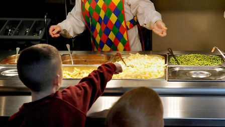 Safe: School meal providers in Norfolk insist their lunches will not have been contaminated as part