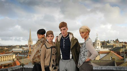 Norwich Fashion Week is coming. March 7 -15 2013. Photo: Antony Kelly.