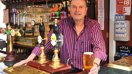 Evening News Pub of the Week, The Perseverance. Landlord Mike Jewell. Photo by Simon Finlay
