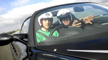 Behind the wheel at the Lotus Driving Academy