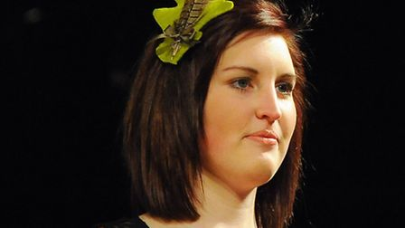 The Designers Show at Epic Studios for Norwich Fashion Week 2013. Betsy Hatter. Picture: Denise Brad
