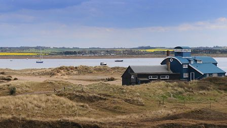 100th anniversary of the National Trust buying Blakeney Point and turning it into Norfolk's first na