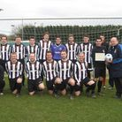 Acle United, who won the Anglian Combination's Senior Team of the Month Award for December and Janua