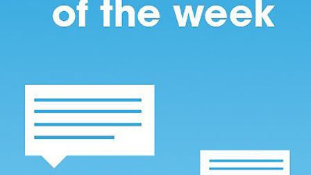 Comments of the week